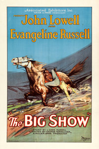 "The Big Show (Associated Exhibitors, 1926). One Sheet (27"" X 41"") Style B"