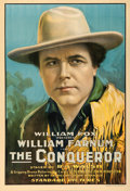"Movie Posters:Western, The Conqueror (Fox, 1917). One Sheet (28.25"" X 41"").. ..."