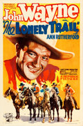 "Movie Posters:Western, The Lonely Trail (Republic, 1936). One Sheet (27"" X 41"").. ..."