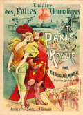 "Movie Posters:Miscellaneous, Touts Paris en Revue (c. 1893). French Theatre Poster (37"" X 51.5"") Alfred Choubrac Artwork.. ..."