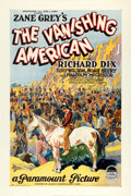 "Movie Posters:Drama, The Vanishing American (Paramount, 1925). One Sheet (27.5"" X 41"")Style B.. ..."