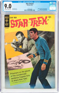 Silver Age (1956-1969):Science Fiction, Star Trek #2 (Gold Key, 1968) CGC VF/NM 9.0 Off-white to white pages....