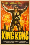 "Movie Posters:Horror, King Kong (Enterprise, R-1950s). Argentinean Poster (29"" X 43"")....."