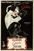 """Movie Posters:Film Noir, Gilda (Columbia, R-1940s). Argentinean Poster (29"""" X 43"""").. ..."""