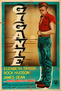 "Movie Posters:Drama, Giant (Warner Brothers, 1956). Argentinean Poster (29"" X 43"").. ..."
