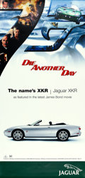 "Movie Posters:James Bond, Die Another Day (MGM, 2002). Jaguar Advertising Poster (39.5"" X82"").. ..."