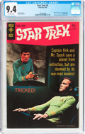 Silver Age (1956-1969):Science Fiction, Star Trek #5 (Gold Key, 1969) CGC NM 9.4 Off-white pages....