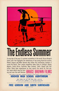 "Movie Posters:Sports, The Endless Summer (Cinema 5, 1966). Special Screening Poster (11"" X 17"") John Van Hamersveld Artwork.. ..."