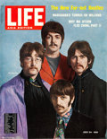 "Movie Posters:Rock and Roll, Beatles Life Magazine Newsstand Poster (Life Magazine, 1967). Newsstand Poster (26.25"" X 32.5"").. ..."