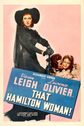 """Movie Posters:Drama, That Hamilton Woman (United Artists, 1941). One Sheet (27"""" X 41"""").. ..."""