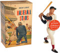 Baseball Collectibles:Hartland Statues, Vintage 1958-62 Hartland Statue - Ted Williams. With Name Tag and Original Box...