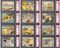 "Non-Sport Cards:Sets, 1941 R157/R158 ""Uncle Sam/Home Defense"" Complete Set (120). ..."