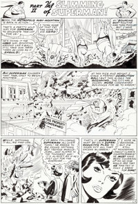 Curt Swan and George Roussos Superman #221 Story Page 7 Original Art (DC, 1969)