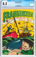 Golden Age (1938-1955):Horror, Frankenstein Comics #26 (Prize, 1953) CGC VF+ 8.5 Cream tooff-white pages....