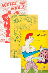 Hairy Who Art Zine Group of 3 (Hyde Park Art Center/Corcoran Gallery of Art, 1966-69).... (Total: 3 Items)
