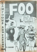 Silver Age (1956-1969):Alternative/Underground, Foo #2 Original Edition (Animal Town Comics, 1958) Condition:VG-....