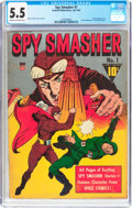 Golden Age (1938-1955):Adventure, Spy Smasher #1 (Fawcett Publications, 1941) CGC FN- 5.5 Cream to off-white pages....