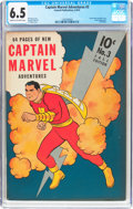 Golden Age (1938-1955):Superhero, Captain Marvel Adventures #3 (Fawcett Publications, 1941) CGC FN+ 6.5 Cream to off-white pages....