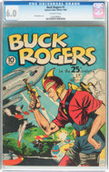Golden Age (1938-1955):Science Fiction, Buck Rogers #1 (Eastern Color, 1940) CGC FN 6.0 Off-white pages....