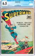Golden Age (1938-1955):Superhero, Superman #7 (DC, 1940) CGC FN+ 6.5 Off-white to white pages....