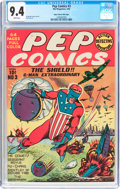 Golden Age (1938-1955):Superhero, Pep Comics #3 Mile High Pedigree (MLJ, 1940) CGC NM 9.4 White pages....