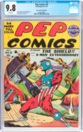 Golden Age (1938-1955):Superhero, Pep Comics #6 Mile High Pedigree (MLJ, 1940) CGC NM/MT 9.8 White pages....