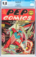 Golden Age (1938-1955):Superhero, Pep Comics #5 Mile High Pedigree (MLJ, 1940) CGC NM/MT 9.8 White pages....