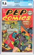 Golden Age (1938-1955):Superhero, Pep Comics #13 Mile High Pedigree (MLJ, 1941) CGC NM+ 9.6 White pages....