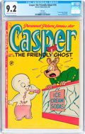 Golden Age (1938-1955):Cartoon Character, Casper the Friendly Ghost #10 File Copy (Harvey, 1953) CGC NM- 9.2 Cream to off-white pages....