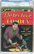 Golden Age (1938-1955):Superhero, Detective Comics #69 (DC, 1942) CGC GD+ 2.5 Off-white to white pages....