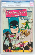 Golden Age (1938-1955):Superhero, Detective Comics #215 (DC, 1955) CGC NM- 9.2 Off-white to white pages....