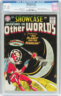 Silver Age (1956-1969):Science Fiction, Showcase #17 Adventures on Other Worlds (DC, 1958) CGC FN/VF 7.0 Cream to off-white pages....