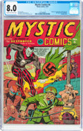 Golden Age (1938-1955):Superhero, Mystic Comics #6 (Timely, 1941) CGC VF 8.0 Cream to off-white pages....