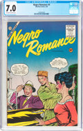 Golden Age (1938-1955):Romance, Negro Romances #4 (Charlton, 1955) CGC FN/VF 7.0 Off-white to whitepages....