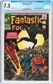 Fantastic Four #52 (Marvel, 1966) CGC VF- 7.5 Cream to off-white pages