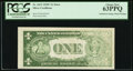 Error Notes:Inking Errors, Fr. 1612 $1 1935C Silver Certificate. PCGS Choice New 63PPQ.. ...