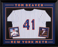 Baseball Collectibles:Uniforms, 1990's Tom Seaver Signed New York Mets Jersey from The Gary CarterCollection....