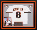 Baseball Collectibles:Others, Circa 2003 Gary Carter Signed San Francisco Giants Jersey (Home)Commemorating His N.L. Record for Most Games Caught from The ...