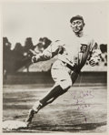 Baseball Collectibles:Photos, 1948 Ty Cobb Signed Photograph....