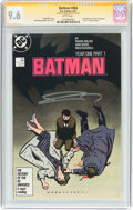 Modern Age (1980-Present):Superhero, Batman #404 Signature Series (DC, 1987) CGC NM+ 9.6 White pages....