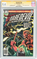 Modern Age (1980-Present):Superhero, Daredevil #168 Signature Series (Marvel, 1981) CGC NM 9.4 Whitepages....