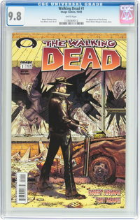 The Walking Dead #1 (Image, 2003) CGC NM/MT 9.8 White pages