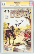 Modern Age (1980-Present):Horror, The Walking Dead #2 Signature Series (Image, 2003) CGC NM/MT 9.8White pages....