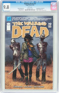 Modern Age (1980-Present):Horror, The Walking Dead #19 (Image, 2005) CGC NM/MT 9.8 White pages....