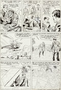 Original Comic Art:Panel Pages, Jack Kirby and Mike Esposito Tales To Astonish #68 StoryPage 7 Original Art (Marvel, 1965)....