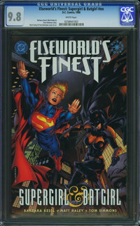 Elseworld's Finest: Supergirl & Batgirl #1 (DC, 1998) CGC NM/MT 9.8 White pages
