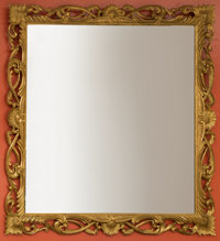 A Large Louis XIV-Style Giltwood Mirror 60 x 60 inches (152.4 x 152.4 cm)
