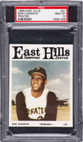 Baseball Cards:Singles (1960-1969), 1966 East Hills Pirates Roberto Clemente #21 PSA Gem MT 10 - PopOne-of-One! ...