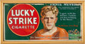 Football Collectibles:Others, Circa 1926 Ernie Nevers Lucky Strike Cigarettes Broadside....