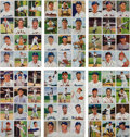 Baseball Cards:Sets, 1950 Bowman Baseball Cards Partial Set (124/252) In Uncut Panels. ...